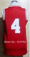 Free Shipping,#4 Victor Oladipo College Basketball Jersey,Embroidery logos,Size S--3XL,Accept Mix Order