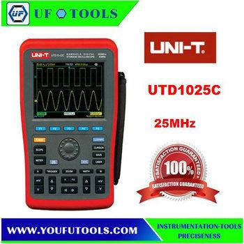 Wholesale UTD1025C Handheld Digital Storage Oscilloscope 25Mhz