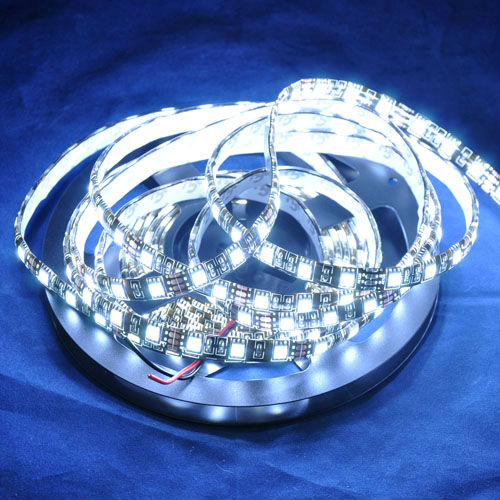 NEW 5 Meters/pc 300 leds/pc Glue Waterproof IP65 Black PCB DC12V White Color LED Flexible Strip Light SMD5050(China (Mainland))