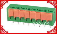 5.08mm Spring terminal block 142v power supply connector 8PIN 100PCS/l lot