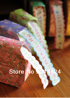 diy free shipping multi color  home decorative stationery  roll romantic paper adhesive tape