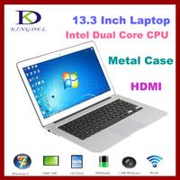 "hotselling!!! 13.3"" Ultrabook Laptop+Notebook+Intel i3 Dual Core 1.90Ghz, Quad Thread, 2GB RAM&64GB SSD+Webcam+8400Mah Battery"