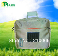 Freeshipping 1.0W 1500MAH Solar Bag Solar Charger Phone Charger For computer, laptop, phone, MP3/4, digital camera,PSP,