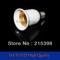 10pcs e14 to E27 Base  socket LED Light Lamp Bulb Adapter [4266|01|01]
