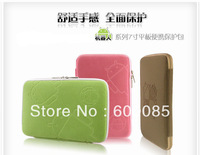 """Free Drop Shipping cloth 7"""" Protector Bag Pouch Cover Case For MID PDA Tablet PC 7 inch 2012 fashion design"""