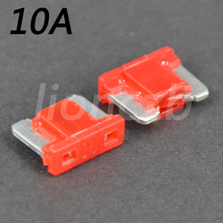 50 PCS Micro Blade Fuse Assortment Low-profile Mini (APS/ATT) Fuses 10A AMP(China (Mainland))