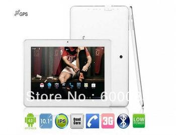 10.1 inch Sanei N10 Dual core QUALCOMM Cortex-A5 Dual Core 1.2GHz 1GB/4GB IPS built-in 3G WIFI GPS WCDMA tablet pc