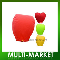 Free shipping/KongMing Lanterns Flying Light Chinese Wish Light Flame Sky lantern