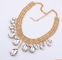 Min.order $10Free Shipping New Arrive Fashion Metal Mix Match Drop Tassel Vintage Big Necklace Pendants Colors