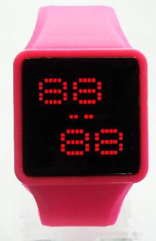 Free shipping !High Quality ,Unisex Led Mirror Watch,Silicone Sports Watch, Mirror Wrist Quartz Watch,