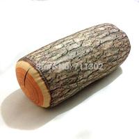 Wood Grain print Tree design Pillows Column MicroBeads Tube Cushion neck pillows 32*15 2pcs Free Shipping