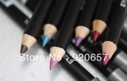 Free Shipping 1set 12 Color Cosmetics Makeup Pen Waterproof Eyebrow Eye Liner Lip Eyeliner Pencil(China (Mainland))