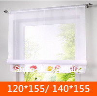 Fashion high quality handmade printed roman blinds screening(Liftable curtain finished) 140*155/120*155