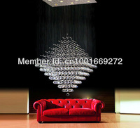 hot sell Modern Lighting Crystal  Lamp Diamond  Light Rain Drop pendant lights also for wholesale