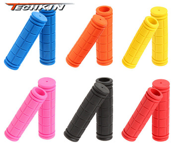 10113 full rubber colorful the Grips / rubber sets Soft Grips MTB Grips dead fly the sets