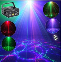 suny 500mw red green Blue RGB DJ Laser Stage Party Club Disco Light