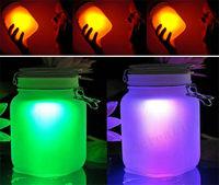 Free Shipping Solar Lamp Sun Jar Luminous Cup LED Night Light ,Romantic Girls'  Birthday Gift Sunshine Jar