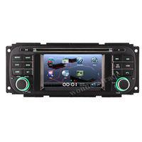 """4.3""""   CAR DVD PLAYER autoradio radio with GPS navigation  for JEEP Wrangler Liberty Grand Cherokee"""