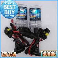 2X HID Xenon Bulb H11 35W 6000K Super brightness Car HID Xenon kit bulbs