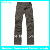 2013 Fashion Designer Breathable Outdoor brand Quick Dry UV Resistant Dual-purpose hiking casual pants women's sport trousers