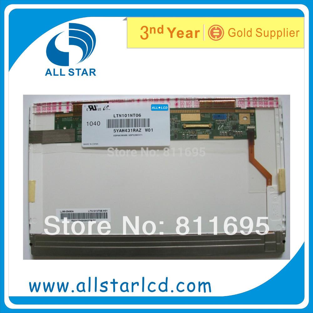 "CMS LCD Screen Laptop Display Flat Panel brandnew Samsung LTN101NT06 LTN101NT02 LED 10.1 10.1"" Free shipping by Post(China (Mainland))"