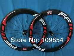 Free Shipping FFWD F6R 60mm clincher bicycle wheels 700c carbon fiber road bike racing wheelset(China (Mainland))