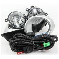 Original full kit wire switch button covers halogen Toyota highlander 2008 2009 2010 fog lamp highlander fog light