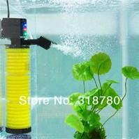 25W Aquarium Multifunction Filter Pump Fish Tank 3 Layers Filter Aquarium Internal Filter 1500L/H