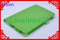 Nillkin Stylish Color Leather Case for Google nexus 7,with sleep stand-by and wake up functions green(China (Mainland))
