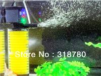 20W Aquarium Multifunction Filter Pump Fish Tank 2 Layers Filter Aquarium Internal Filter 1200L/H