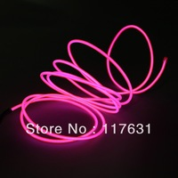 EL Wire - 2.3m - 2.3mm -pink - Cigarette Charger