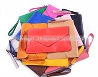 2013 New Arrival Women's Envelope Clutch Chain Purse HandBag Shoulder Hand Tote Bag 2 Straps 11 Color Available