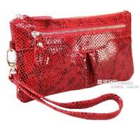 2013 Korean Design Genuine Cowhide Ladies' Purse Women Fashion Handbag. Free Shipping!