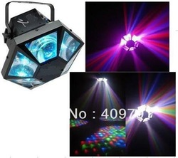 LED moon flower with six eyes best for effec lighting ,club and dj 5pcs/lot Free shipping(China (Mainland))