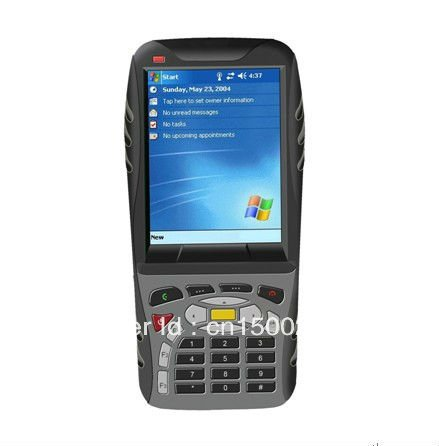 Windows Mobile OS Rugged PDA with free SDK and technology support GPS,GPRS/GSM,WIFI,BT,Camera customized RFID Barcode scanner(China (Mainland))