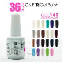 Free shipping+36PCS Top New Nail Art Fashion LED/UV SOAK-OFF GEL POLISH 60 Colors Phototherapy series (30 Colors +3 Base +3Top)