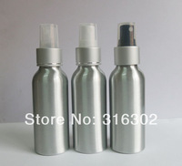 Free Shipping 12 x Aluminum Cosmetic Packaging, Aluminum Spray Bottle