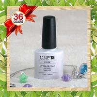 Free shipping+Hot sale 20PCS CNF Shellac fashion nail art UV&LED Soak Off UV Gel Polish(16Colors+2top+2base)