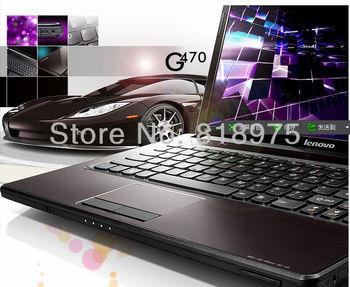 Free shipping Lenovo laptop g470 i3-2310 4GB 500GB dedicated card 1G HDMI webcame