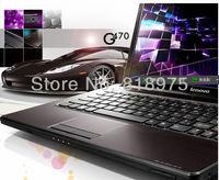 Free shipping Lenovo laptop g470 i3-23574GB 500GB dedicated card 2G HDMI webcame