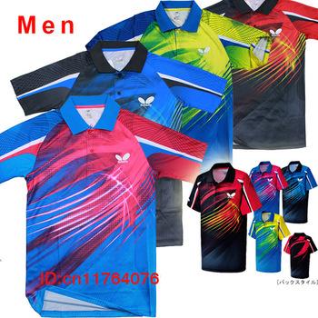 Brand table tennis shirts plastic save shirt , Brand sports game shirt  ,Table Tennis clothes Men / polo shirts
