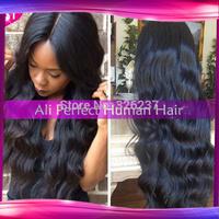 Hot Sale !130%-150%density100%unprocessed Virgin Brazilian human hair Kinky Curly u part wig freeshipping