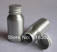 Free Shipping 12 x 30ml Cosmetic Aluminum Bottle, Cosmetic Storage Packaging Container, Metal Bottle