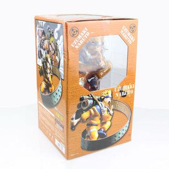10pcs/lot Naruto action figures Naruto:Shippuden Uzumaki Naruto Resurrection articles PVC 23cm high Free shipping by EMS