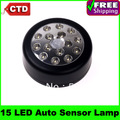 15 LED Light Lamp PIR Auto Sensor Motion Detector Light Motion Sensor lights Free Drop Shipping
