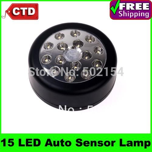 15 LED Light Lamp PIR Auto Sensor Motion Detector Light Motion Sensor lights(China (Mainland))