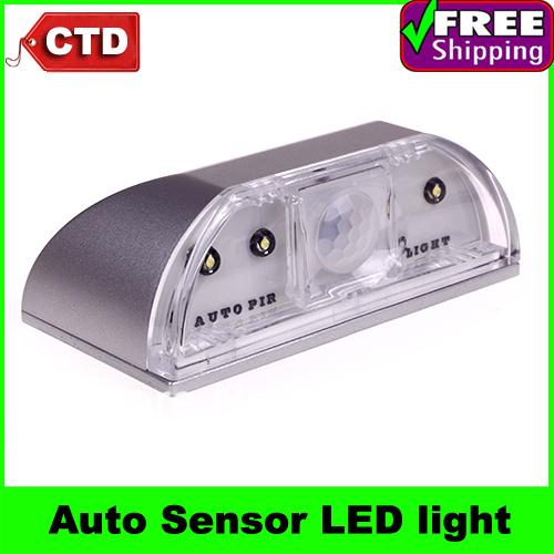 Auto PIR Door Keyhole IR Motion Sensor Heat Temperature Detector LED Light Lamp Pyroelectric(China (Mainland))