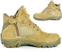 Delta tactical low help Side zipper desert boot  sand color