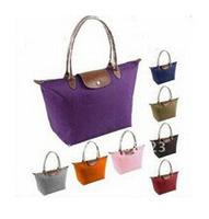 Top handbags Designer  genuine leather handbag Nylon  Carrier /Shopping bag Makeup Storage shoppingbag plastic shoulder handbag