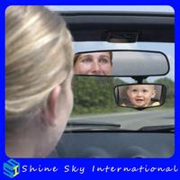 Safe View Mirror automobile baby safety rear view mirror car interior mirror free shipping